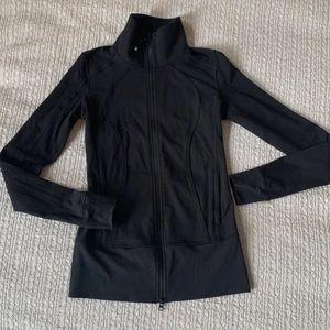 lululemon athletica black zip up jacket